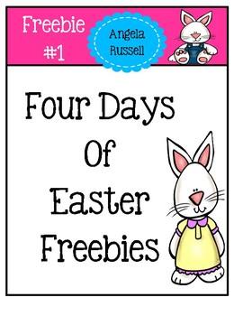 Freebie #1 ~ In My Easter Basket