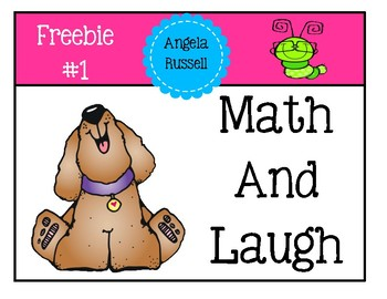 "Freebie #1 ~ ""Math And Laugh""  End Of The Year Activity"