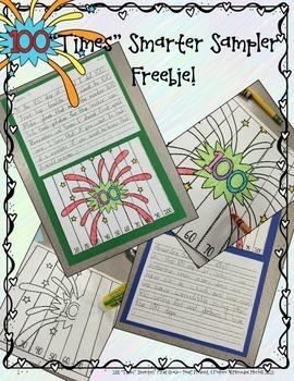 "Freebie 100 ""Times"" Smarter!  First Grade Sampler"