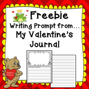 FREEBIE: Valentine's Day Writing Prompt