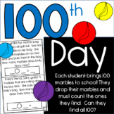 Freebie: 100th Day of School Math Fun! Count up to 100!