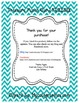 Freebie! 100th Product! Treasure Punch Card with Goal Setting