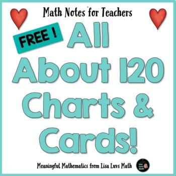 Freebie! 120 Charts & Cards Make Math Meaningful - Math No