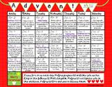 2016 Advent Calendar - Ready To Use With An Idea A Day