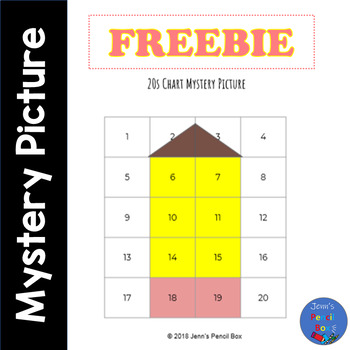 Freebie 20s Chart Beginners Mystery Picture