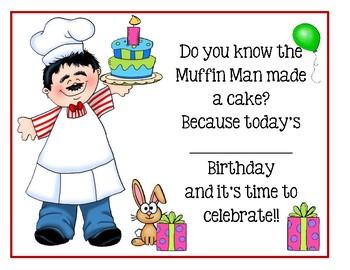 Free Birthday Certificates