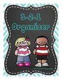 {Freebie} 3-2-1 Organizer