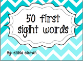 Freebie! { 50 First Sight Words }