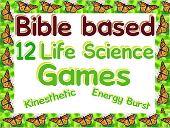 Freebie: 8 kinesthetic Forest biome games
