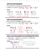 (Freebie) Algebra Guided Interactive Math Notebook Page: S