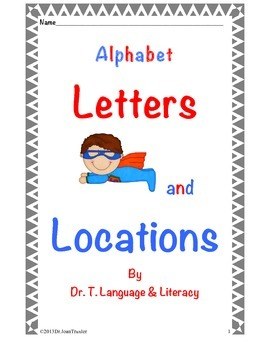 Freebie: Letters and Locations