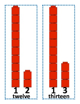 Freebie!  Anchor charts 0-20