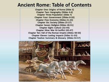 Freebie Ancient Rome