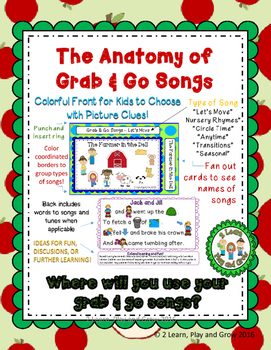 Preschool Songs for Fall Circle Time