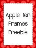 Freebie! Apple Ten Frames