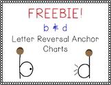 Freebie! B & D Letter Reversal Anchor Charts/Mini Posters
