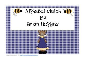 Back To School Bear Alphabet Game FREEBIE