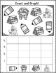 Freebie Back to School Count and Graph It