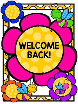 Freebie: Back to School Signs and Coloring Pages