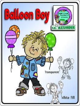 Freebie Balloon Boy