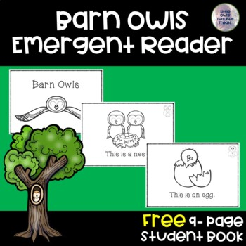 "Freebie: ""Barn Owls"" Emergent Reader"