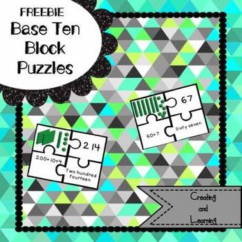 Freebie: Base Ten Puzzles