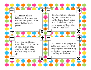 Freebie Basic Addition Task Cards