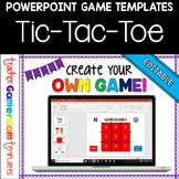 Editable Tic-Tac-Toe Powerpoint Game Template