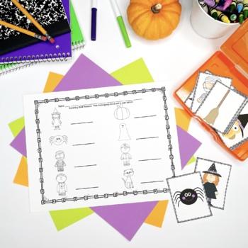 Halloween Literacy Center {Freebie}