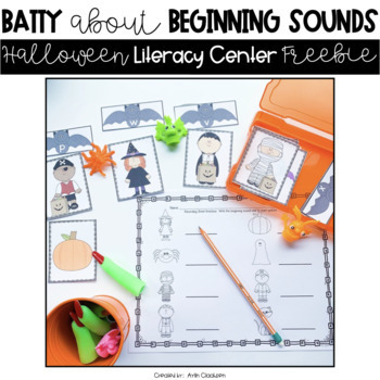 Halloween Literacy Center {Freebie}