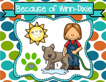 Freebie Because of Winn-Dixie Writing Prompt