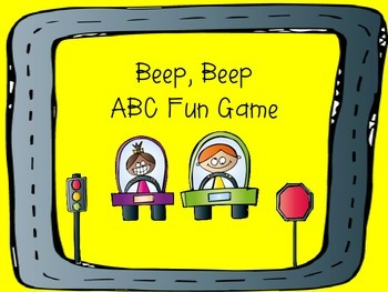 Freebie! Beep, Beep ABC Fun Game