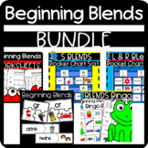 Beginning Blends Worksheets: Sorts, Cloze, Stories, and more!