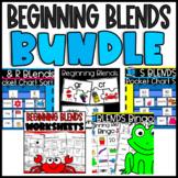 Freebie! Beginning Blends Resources: Puzzles, Stories, Wor