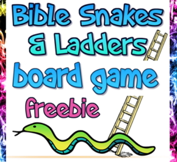 Freebie: Bible Snakes and Ladders board game