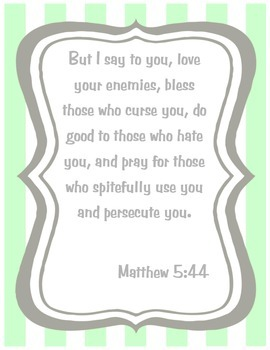 {Freebie} Bible Verse Poster- Grace Based Living