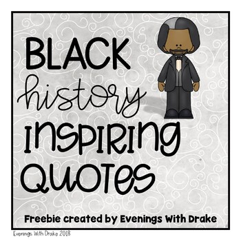{Freebie!} Black American Motivational Quotes (2 posters)