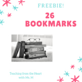 Freebie! Bookmarks for Teachers