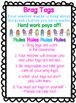 FREEBIE Brag Tag Anchor Chart in Spanish & English