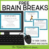 Freebie: Brain Breaks for Print and Digital | Brain Breaks for Distance Learning