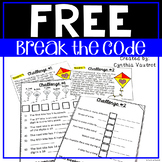 Freebie - Break the Code  - Win a Kite Challenge