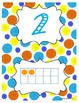 Number Posters 1-20 (Bright Colors) FREEBIE!