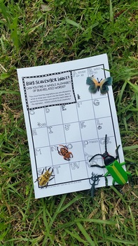 Bug Scavenger Hunt - FREEBIE