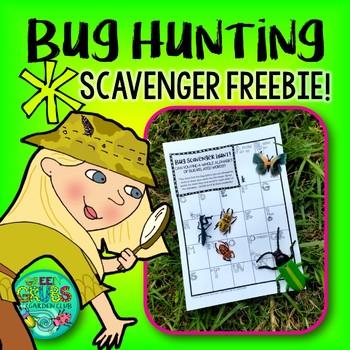 Bug Scavenger Hunt - FREEBIE