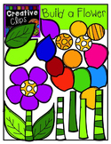 Build a Flower: Spring Clipart {Creative Clips Digital Clipart}