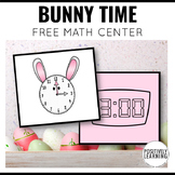 Bunny Telling Time Free