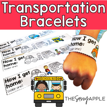*Freebie* Bus Number Bracelets: Keeping track of transportation on the First Day