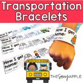 *Freebie* Bus Number Bracelets: Keeping track of transport