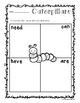 """Freebie - Butterflies and Caterpillars: """"Needs - Can - Have - Are"""" Chart"""