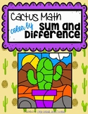 Cactus Color by Sum and Difference